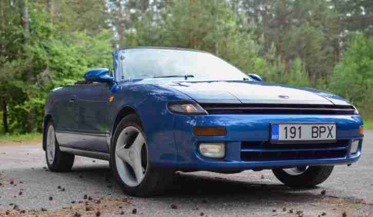 Toyota Celica 4WS Cabriolet JDM RHD convertible.Very good condition 1993