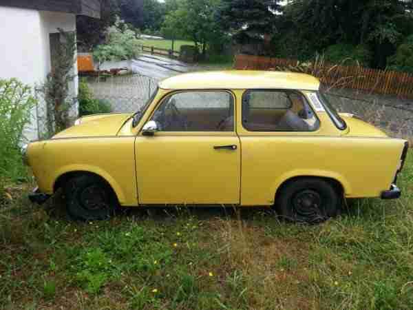 trabant 601 l bj 86 original gelb mit t v 06 angebote. Black Bedroom Furniture Sets. Home Design Ideas