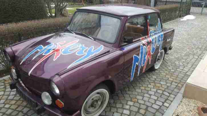 Trabant 601 S LX guter Zustand Oldtimer Motor Getriebe Top, alle Papiere Inkl.