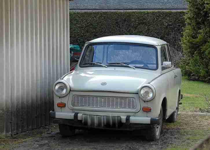 trabant 601 s wei 1966 unverbastelt 8 fach angebote. Black Bedroom Furniture Sets. Home Design Ideas