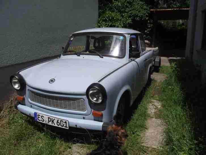 trabant 601 himmelblau mit anh nger hp 280 angebote. Black Bedroom Furniture Sets. Home Design Ideas