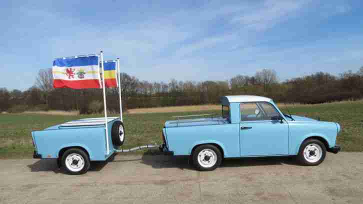 Trabant Pick Up Gespann