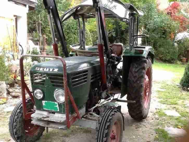 traktor deutz 5006 mit frontlader baas 2 nutzfahrzeuge. Black Bedroom Furniture Sets. Home Design Ideas