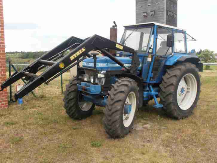 Traktor Schlepper Ford Allrad Frontlader - Nutzfahrzeuge