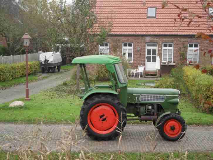 traktor trecker oldtimer fendt fix 2 typ. Black Bedroom Furniture Sets. Home Design Ideas