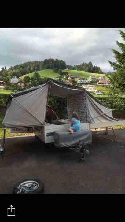 Trigano Wohnanhänger Faltzelt Anhänger - Wohnwagen ...