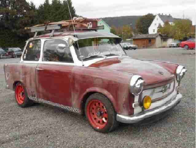 Tuning Trabant Ratte P601 L 08.2018