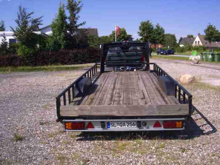 us auflieger trailer flatbedtrailer us anh nger die. Black Bedroom Furniture Sets. Home Design Ideas
