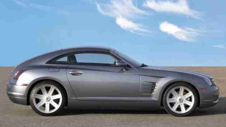 US Car Chrysler Crossfire Coupe 3, 2 Liter 218PS 02 19 TÜV