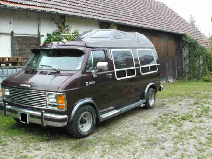 us car dodge ram van v8 5 2 liter die besten angebote amerikanischen autos. Black Bedroom Furniture Sets. Home Design Ideas