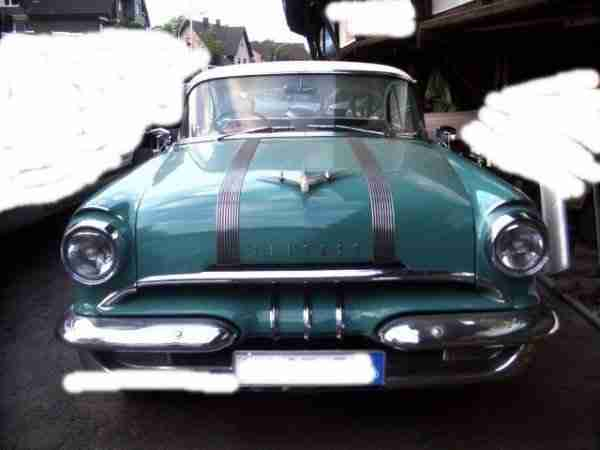 Unfall 1955 Pontiac Star Chief Catalina 2 Door Hardtop