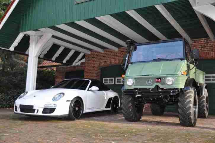unimog 421 cabrio agrar und porsche 997 gts porsche cars. Black Bedroom Furniture Sets. Home Design Ideas