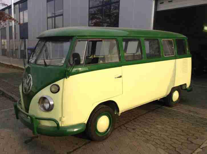 vw bus t1 15 fenster kein samba oldtimer topseller oldtimer car group. Black Bedroom Furniture Sets. Home Design Ideas