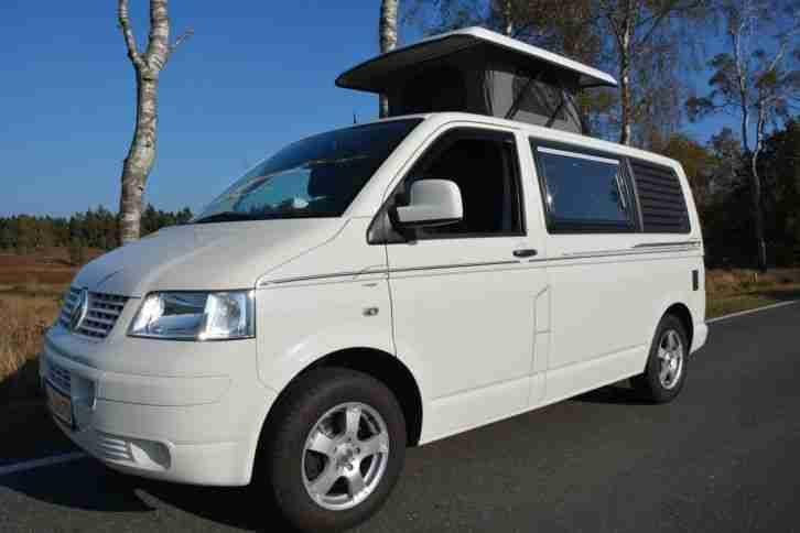 vw bus t5 wohnmobil hubdach erst 71900 km wohnwagen. Black Bedroom Furniture Sets. Home Design Ideas