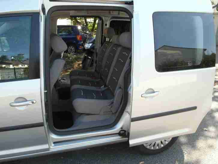 vw caddy 2 0 ecofuel life family silber 2007 neue. Black Bedroom Furniture Sets. Home Design Ideas
