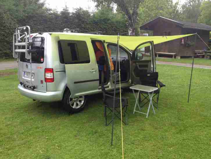 vw caddy life campingmobil wohnwagen wohnmobile. Black Bedroom Furniture Sets. Home Design Ideas