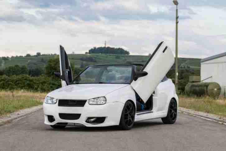 vw golf cabrio 1 8t neu t v neu lackiert neue. Black Bedroom Furniture Sets. Home Design Ideas