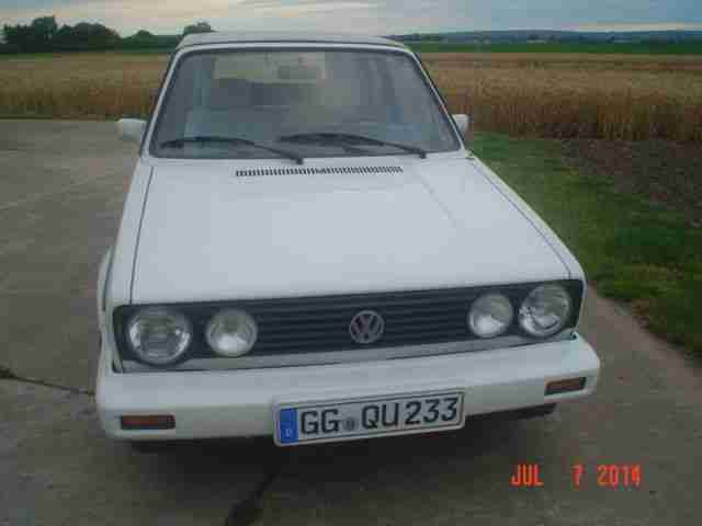 VW Golf 1 Cabrio Typ 155 Karmann D3 Norm