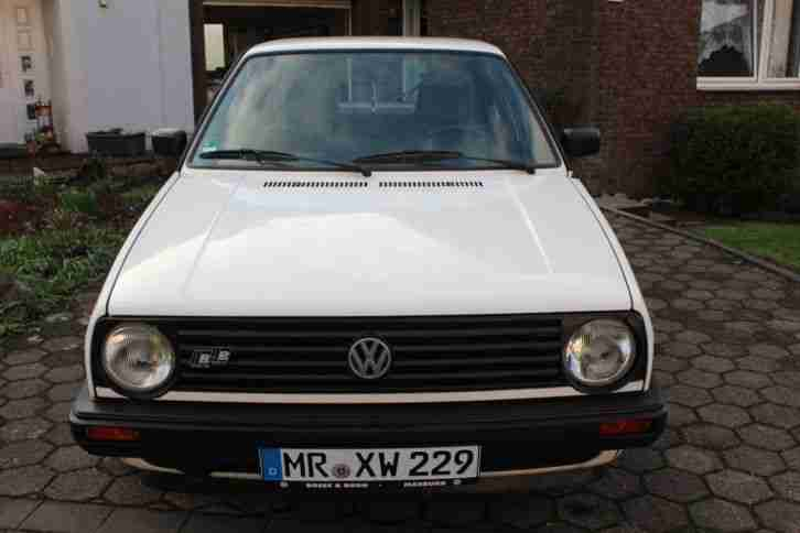 VW Golf 2 FUNCTION 1992er FAST OLDTIMER 73900km