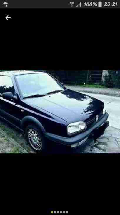 VW Golf 3 III GT special 1,6l Bj. 1996 101 PS