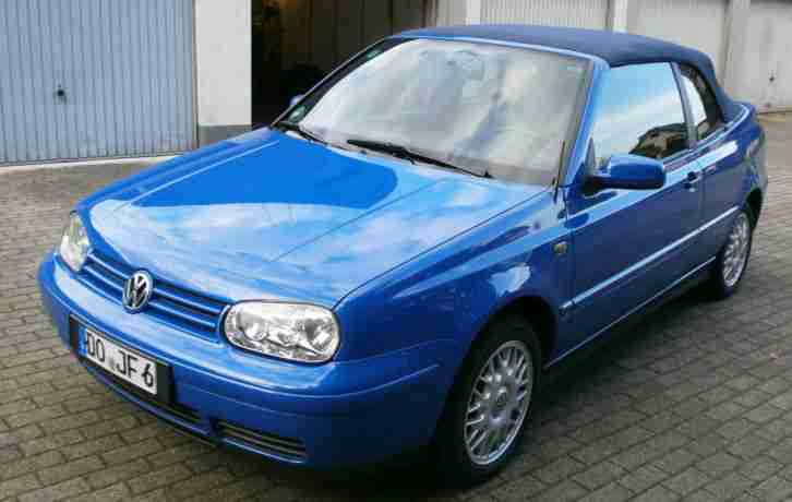 VW Golf 4 Cabrio Highline, 2.0, Tüv 7 15