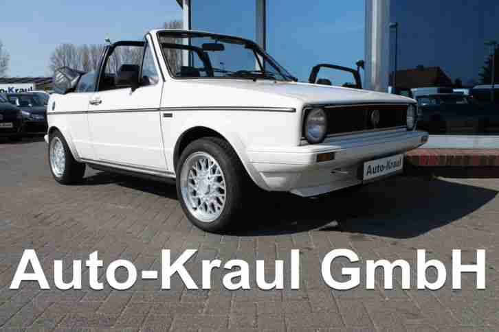 VW Golf I Cabriolet 1.5L GLS Karmann,