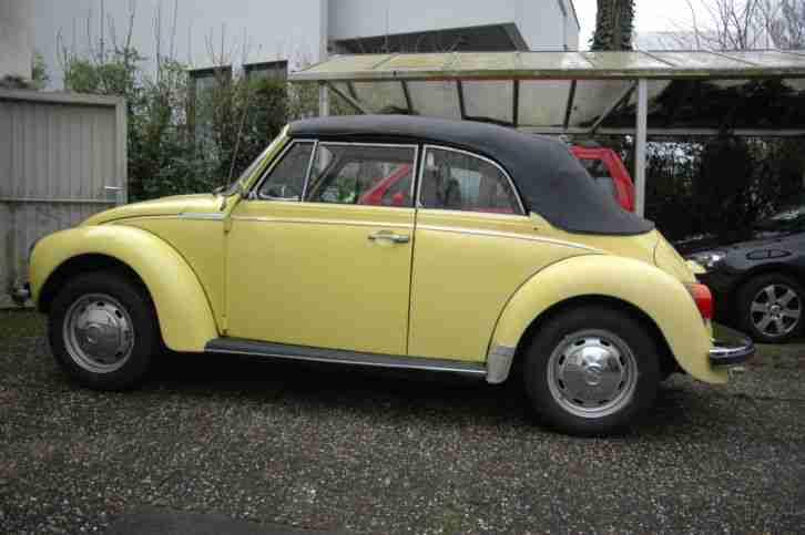 vw k fer 1303 cabrio im seltenen topseller oldtimer car. Black Bedroom Furniture Sets. Home Design Ideas