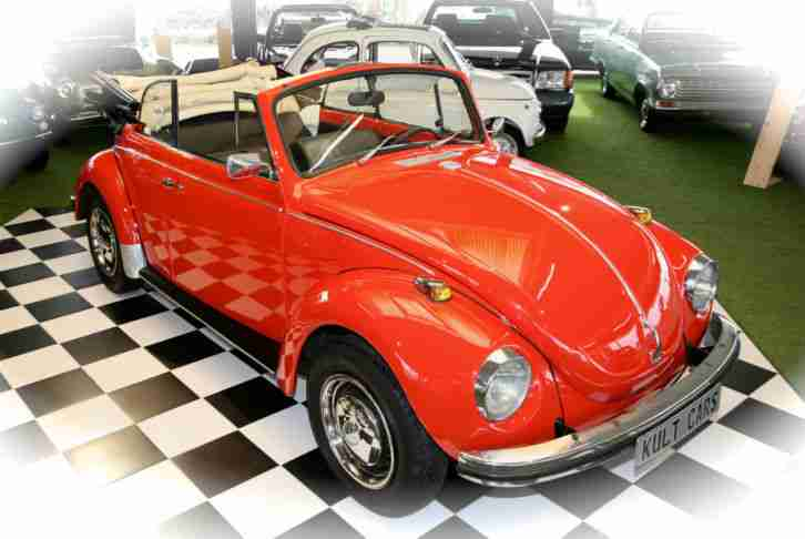 vw k fer cabrio 1302 beetle cabriolet oldtimer topseller. Black Bedroom Furniture Sets. Home Design Ideas