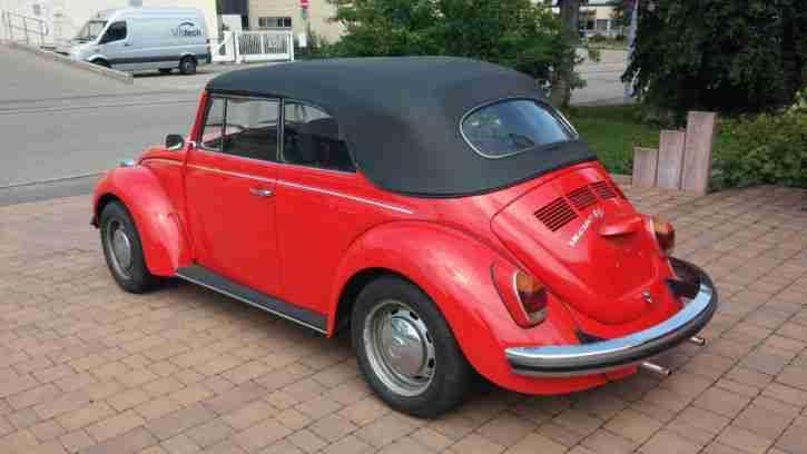 vw k fer cabrio 1302 ls original karmann t v 06. Black Bedroom Furniture Sets. Home Design Ideas