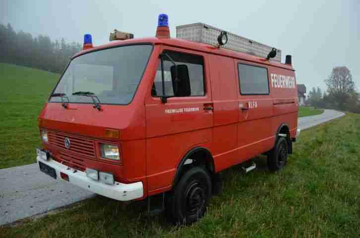 VW LT 281 291 Kastenwagen 4x4 Ex Feuerwehr, 66 ...