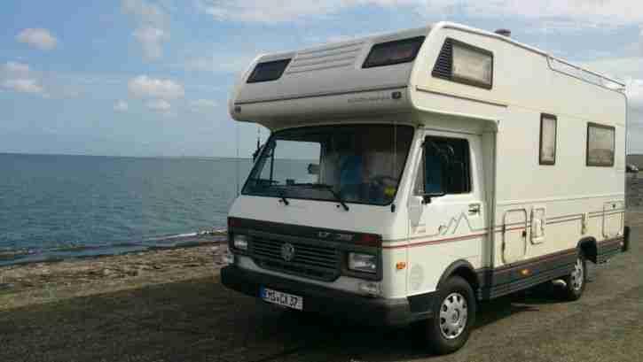 vw lt 35 karmann distance wide gold h wohnwagen. Black Bedroom Furniture Sets. Home Design Ideas