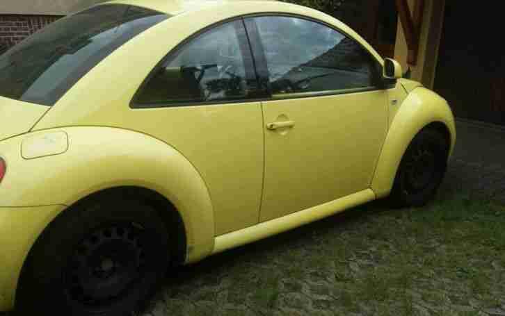 vw new beetle gelb benzin 116 ps 2 0 liter neue positionen volkswagen pkw. Black Bedroom Furniture Sets. Home Design Ideas