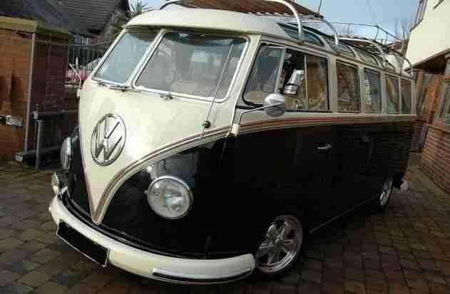 vw samba t1 bus topseller oldtimer car group. Black Bedroom Furniture Sets. Home Design Ideas