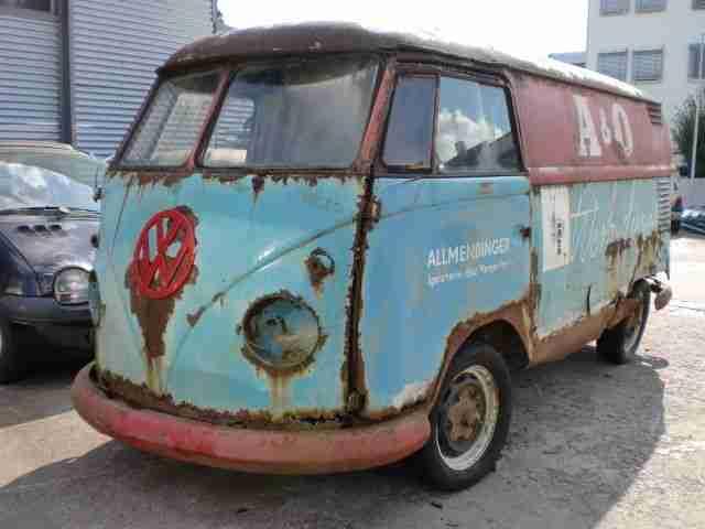 vw t1 bus kasten zum richten oldtimer topseller oldtimer car group. Black Bedroom Furniture Sets. Home Design Ideas