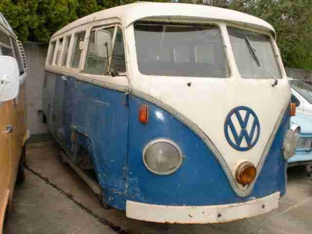 vw t1 fensterbus 1959 ddr bus wolf etc topseller oldtimer car group. Black Bedroom Furniture Sets. Home Design Ideas