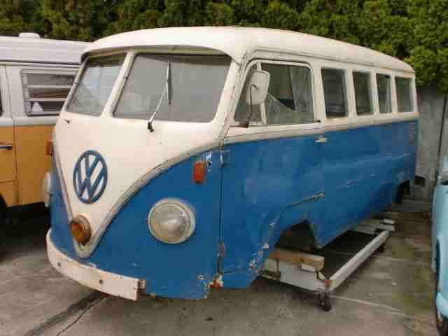 vw t1 fensterbus 1959 ddr bus wolf etc topseller. Black Bedroom Furniture Sets. Home Design Ideas