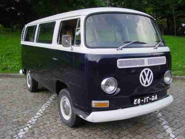 VW T2 Early Bay 1971. Ship to Europe