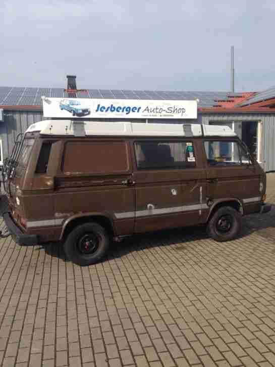 vw t3 joker westfalia camper 5 zylinder diesel wohnwagen. Black Bedroom Furniture Sets. Home Design Ideas