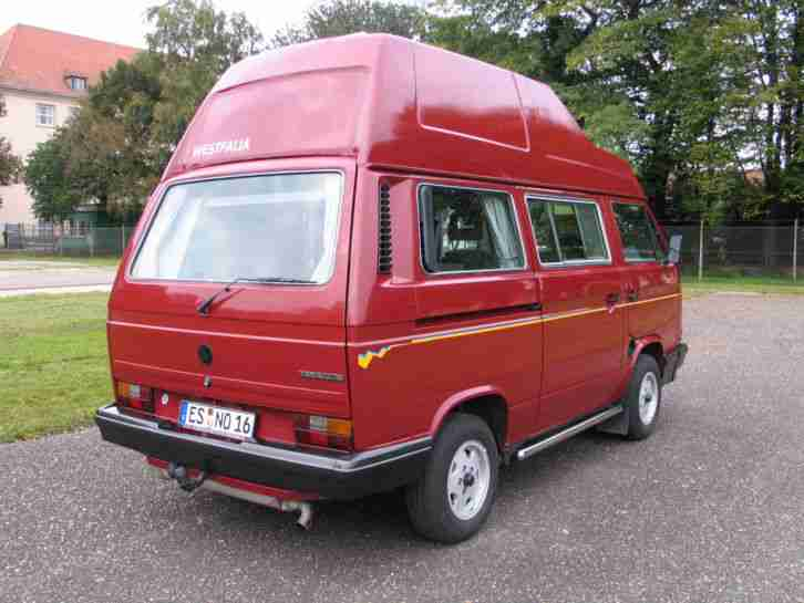 vw t3 westfalia california 1 6 turbodiesel wohnwagen wohnmobile. Black Bedroom Furniture Sets. Home Design Ideas