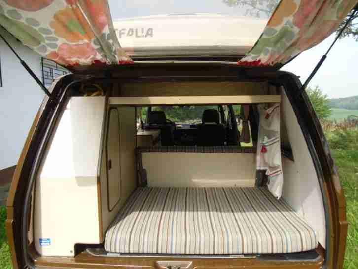 vw t3 westfalia mit h kennzeichen wohnwagen wohnmobile. Black Bedroom Furniture Sets. Home Design Ideas