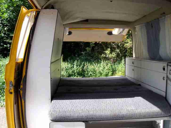 vw t3 wohnmobil mit mann hardt ausbau t v 06 wohnwagen wohnmobile. Black Bedroom Furniture Sets. Home Design Ideas
