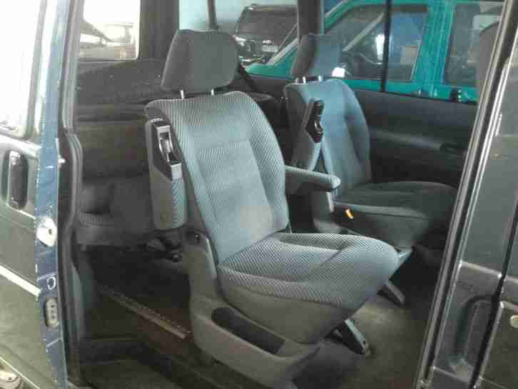 vw t4 caravelle 7 sitze airbag klima abs bulli neue. Black Bedroom Furniture Sets. Home Design Ideas