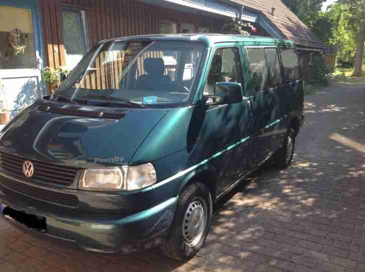 vw t4 multivan family gr n metallic ez 11 1998 neue positionen volkswagen pkw. Black Bedroom Furniture Sets. Home Design Ideas