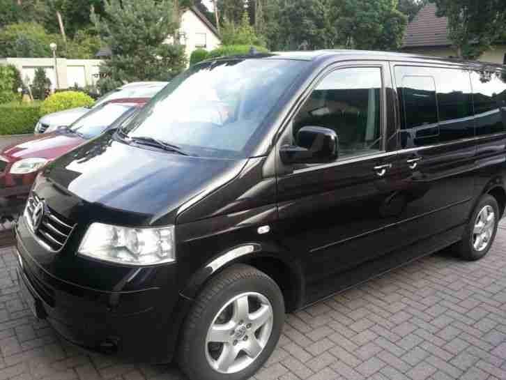 VW T5 Multivan Highline Automatik Navi Leder Top