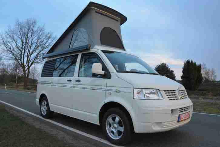 vw t5 wohnmobil aufstelldach 75 kw ez 2009 nur wohnwagen. Black Bedroom Furniture Sets. Home Design Ideas