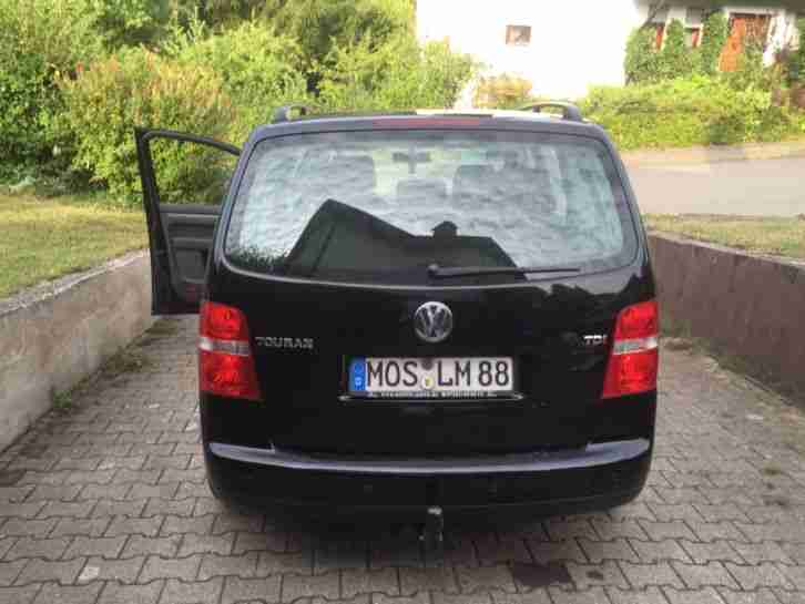 vw touran 1 9 tdi 7 sitzer ahk klimatronic neue. Black Bedroom Furniture Sets. Home Design Ideas