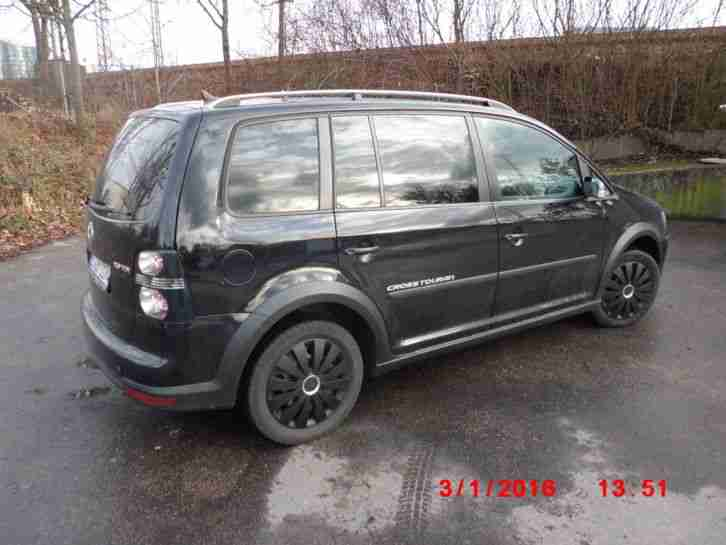VW Touran Cross, 2,0 TDI, 140PS, HU/AU 08/2017, 143108 KM,Bj. 2008,Top Zustand