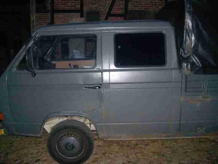 vw t3 doka 1 9l diesel bulli nutzfahrzeuge angebote. Black Bedroom Furniture Sets. Home Design Ideas