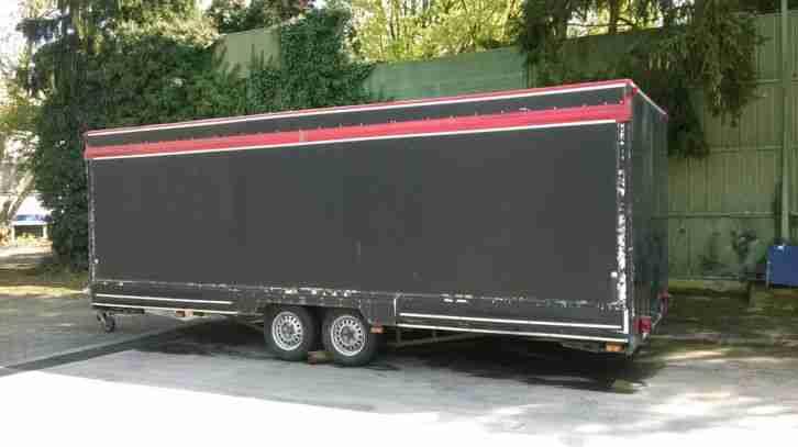 verkaufsanh nger 6 meter mit alko achsen nutzfahrzeuge. Black Bedroom Furniture Sets. Home Design Ideas