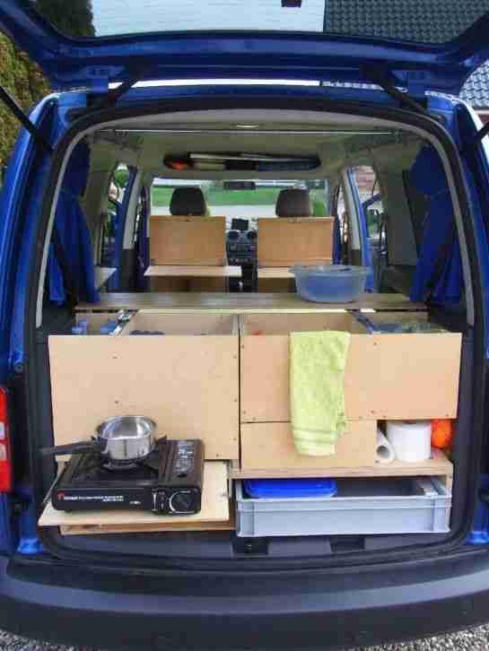 volkswagen caddy maxi tdi dsg als camper oder 7 wohnwagen wohnmobile. Black Bedroom Furniture Sets. Home Design Ideas